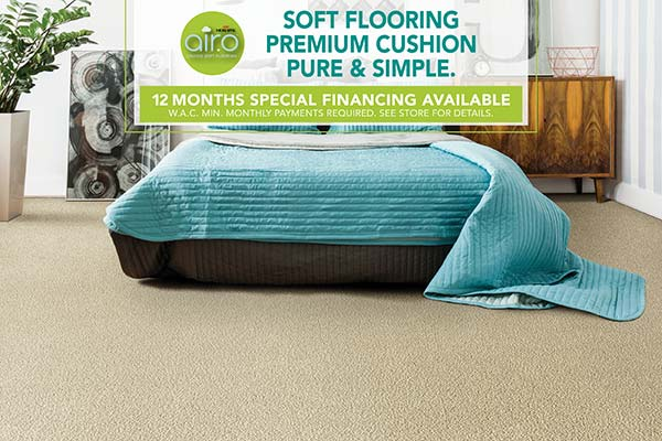 Mohawk Airo for sale at Floors To Go Design Center Carpets & Us  in Levittown, New York - Soft Flooring, Premium Cushion, Pure & Simple - 12 Months Special Financing Available