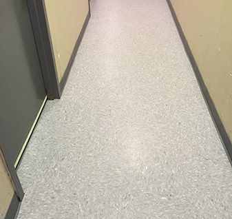 New commercial flooring by Floors To Go Design Center at Carpets & Us in Levittown