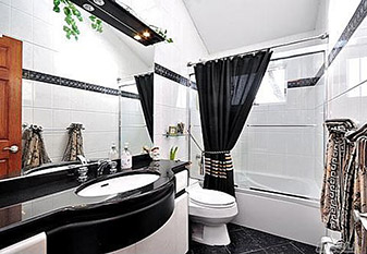 Bathroom Remodeling by Floors To Go Design Center at Carpets & Us.